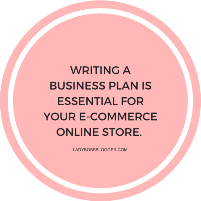 How To Write An Effective E-commerce Business Plan