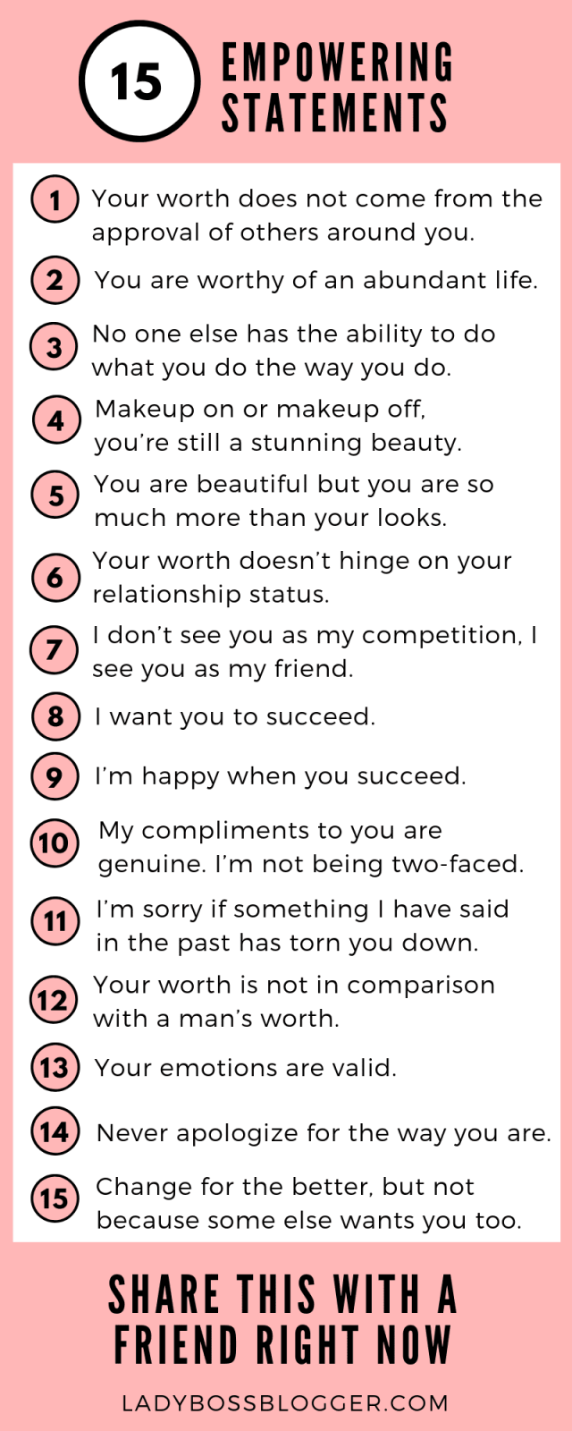 15 Empowering Statements You Need To Read Right Now