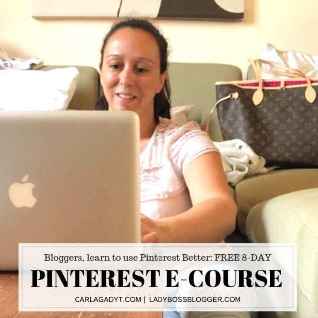 Carla Gadyt Teaches Entrepreneurs And Pro Bloggers To Properly Utilize Pinterest