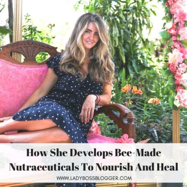 Carly Stein founder and CEO of Beekeeper's Naturals on ladybossblogger