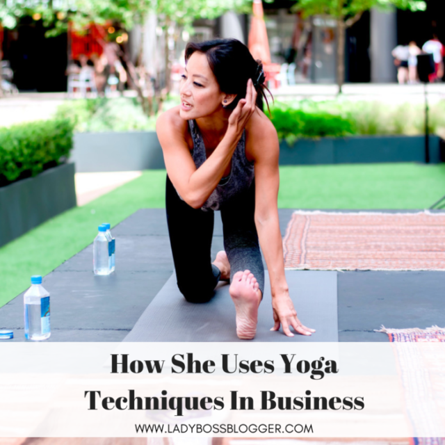 Susan Yu Uses Yoga Techniques In Business