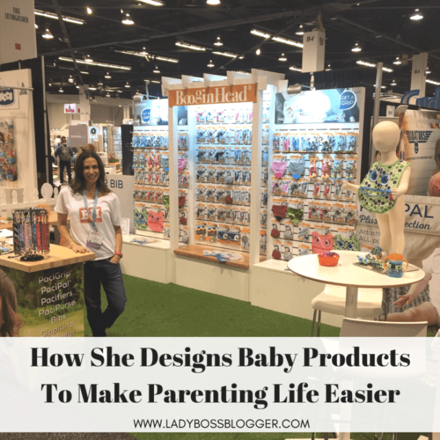 Sari Davidson Designs Baby Products To Make Parenting Life Easier