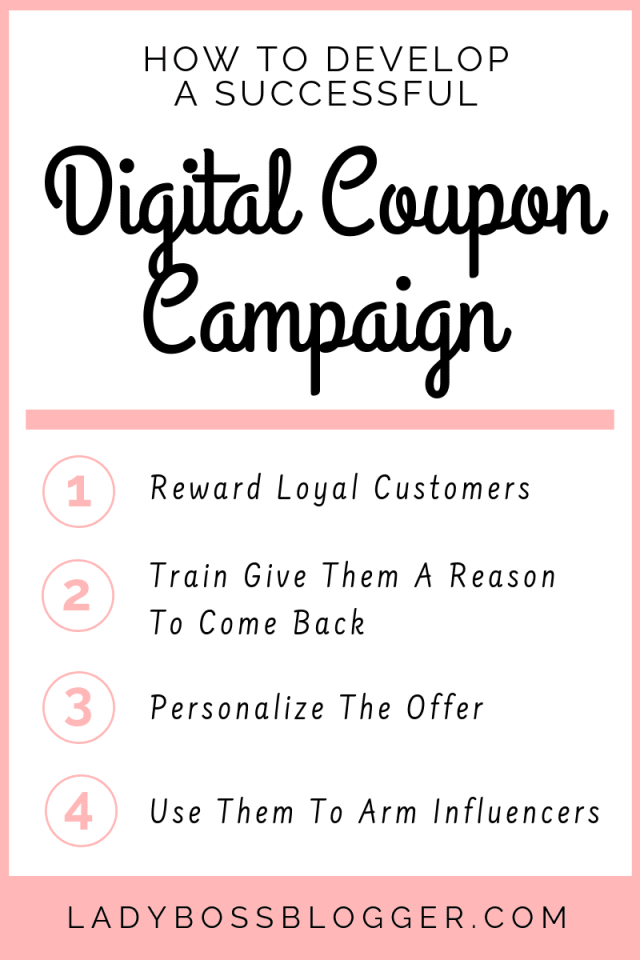 How To Develop A Successful Digital Coupon Campaign