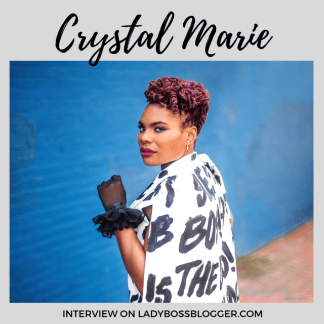 Crystal Marie Young event planner ladybossblogger
