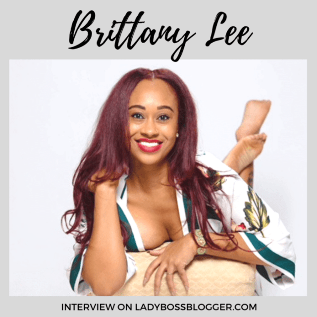 Brittany Lee love coach interview on ladybossblogger