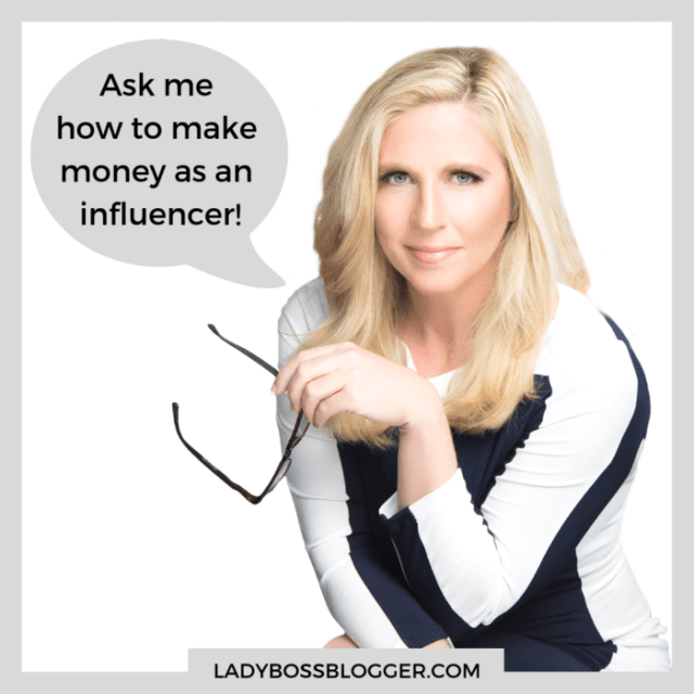 How to make money as an influencer ladybossblogger