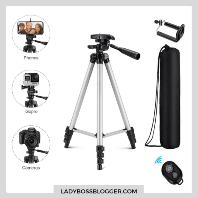tripod for smartphone ladybossblogger