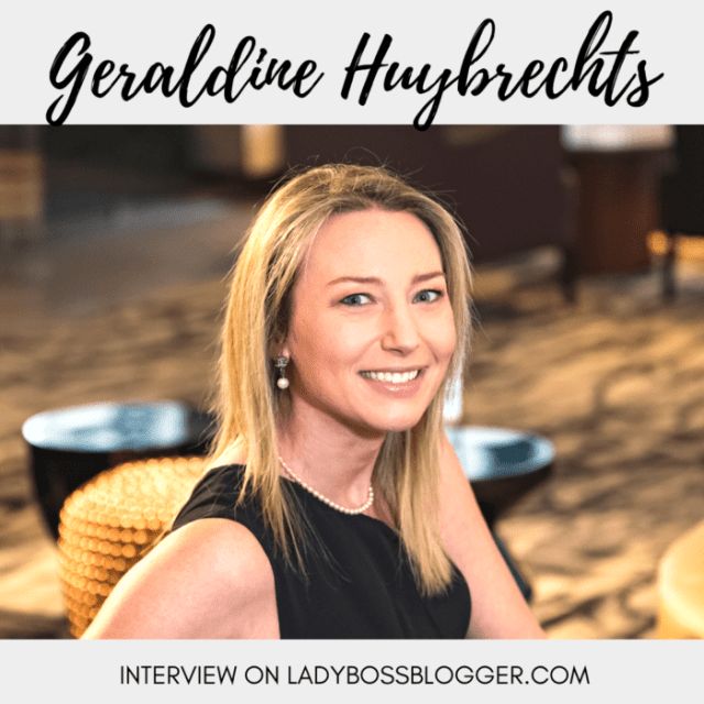 Geraldine Huybrechts Empowers Fempreneurs To Step Out Of Their Comfort Zone
