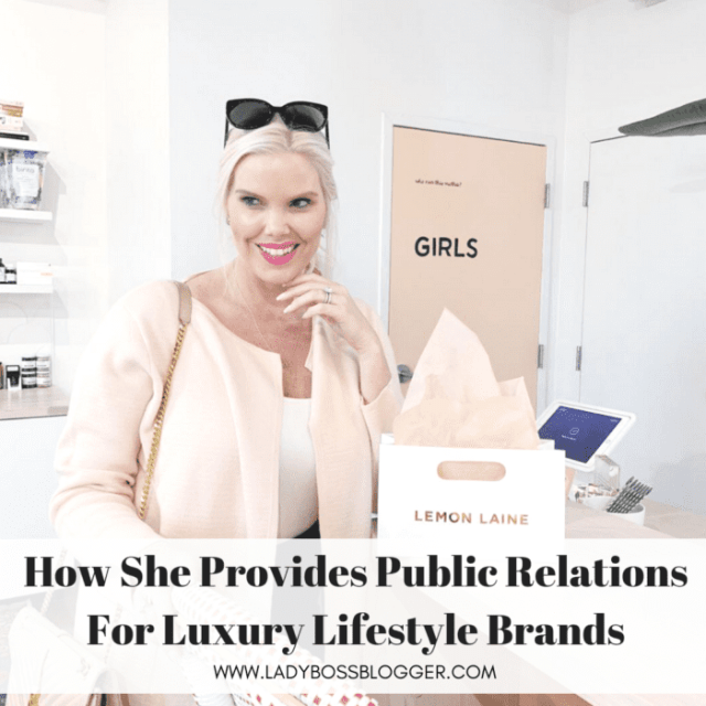 Caroline Kalentzos Provides Public Relations For Luxury Lifestyle Brands