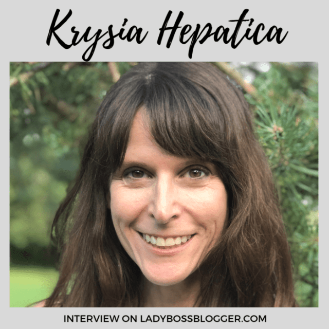 Krysia Hepatica Interview on ladybossblogger