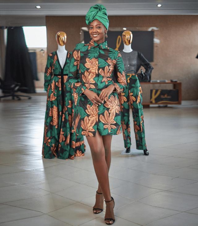 African Fashion Influencer - Afua Rida