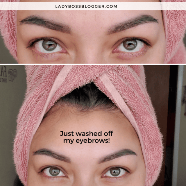 ombre powder. brow review