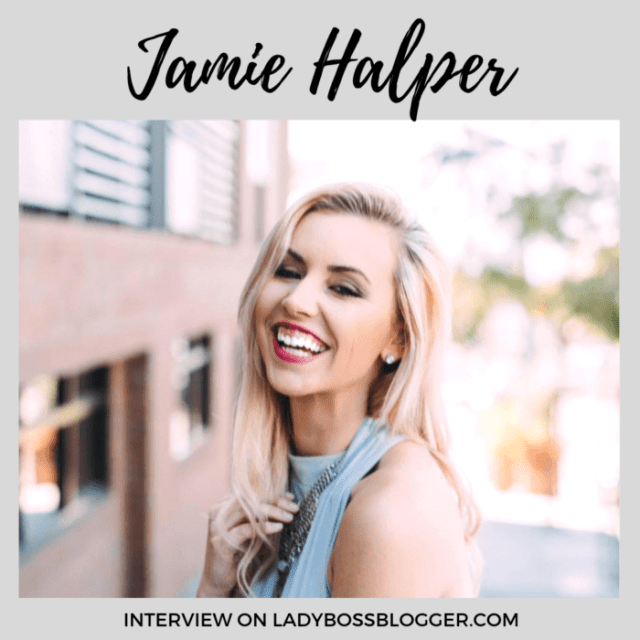 Jamie Halper interview on ladybossblogger