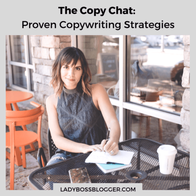 The Copy Chat proven copywriting strategies ladybossblogger