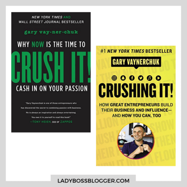 Gary Vee Crush It Crushing It books ladybossblogger