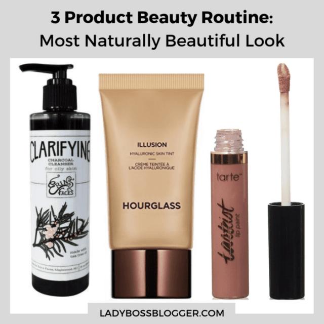 Naturally beautiful beauty routine ladybossblogger
