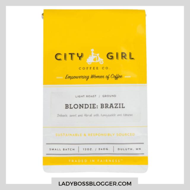city girl blonde coffee ladybossblogger