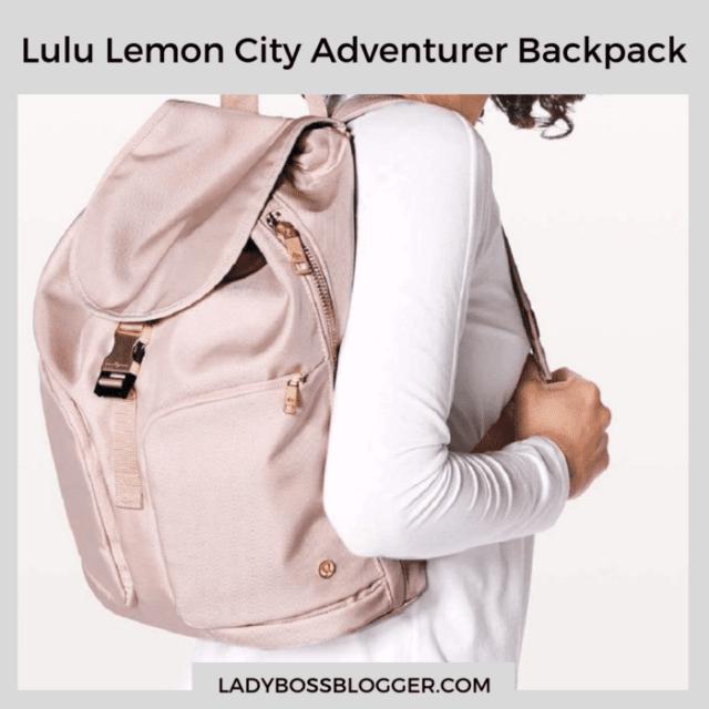 Lulu Lemon City Adventurer Backpack ladybossblogger