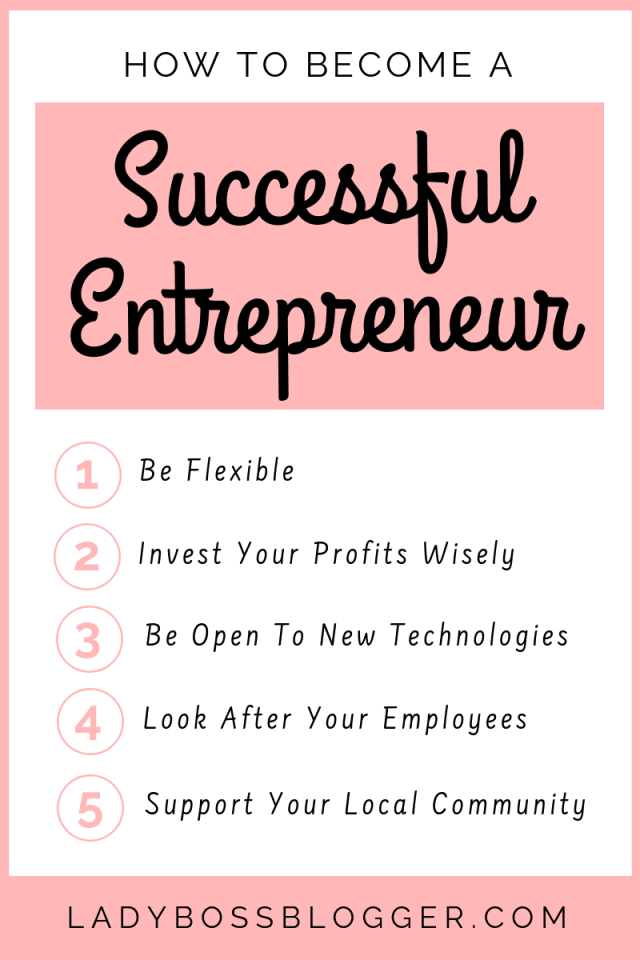 How To Become A Successful Entrepreneur LadyBossBlogger.com (1)