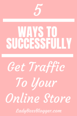 Traffic To Your Online Store