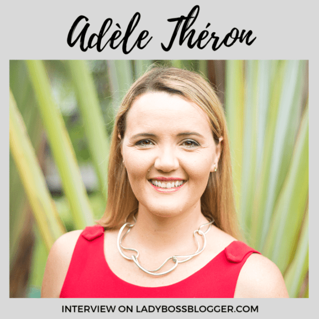 Adèle Théron interview on ladybossblogger