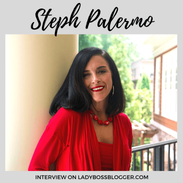 Steph Palermo interview on ladybossblogger