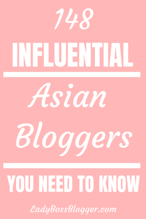 Influential Asian Bloggers