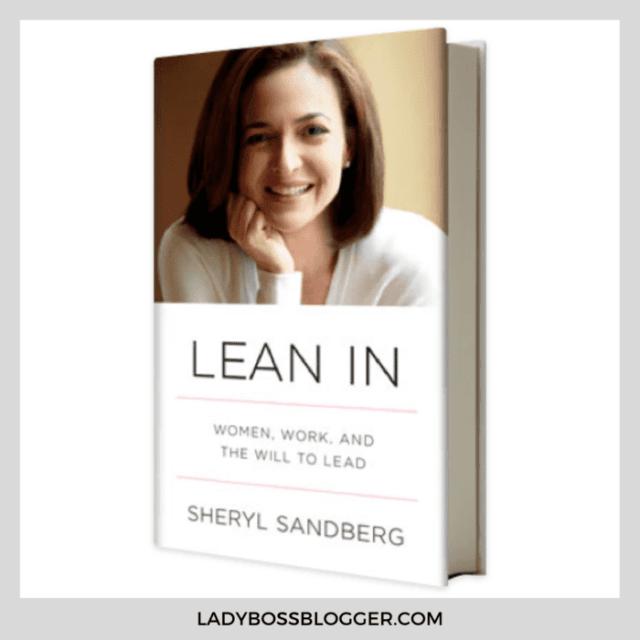 lean in sheryl sandburg ladybossblogger