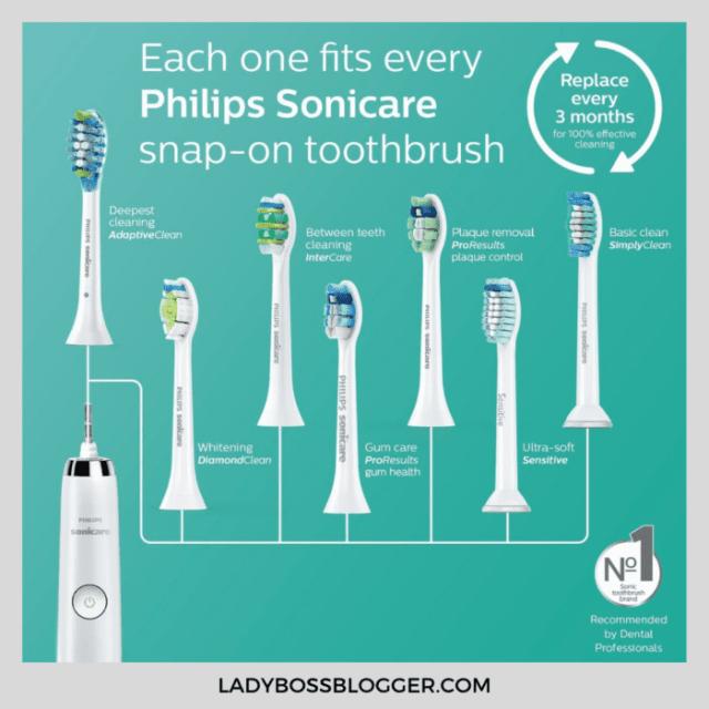 Sonicare toothbrush ladybossblogger