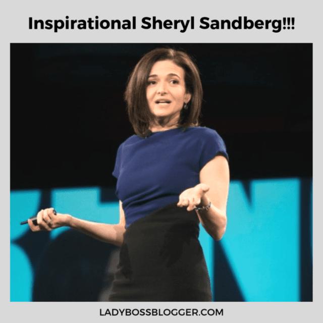 Sheryl Sandberg ladybossblogger