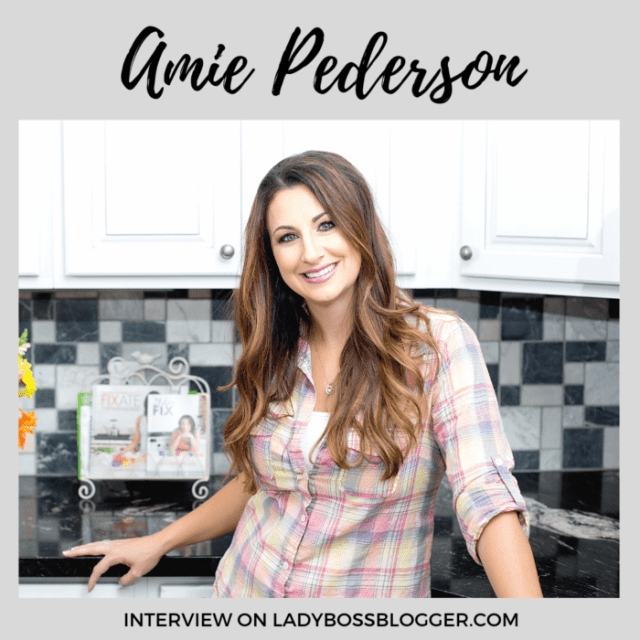 Amie Pederson interview on ladybossblogger