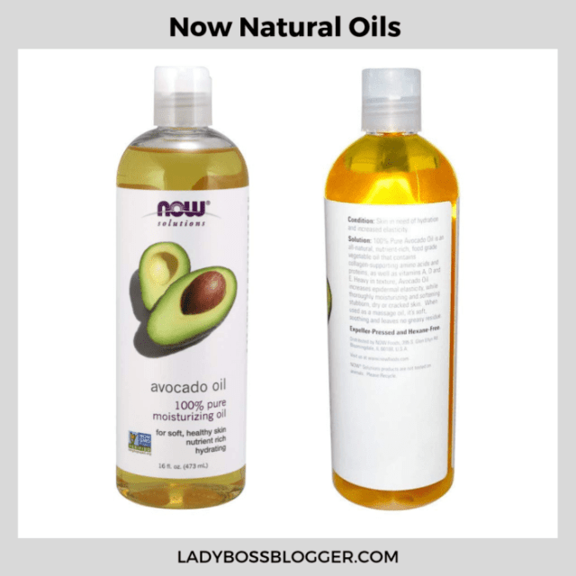 now natural oils ladybossblogger