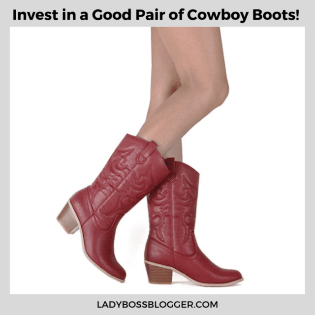 cowboy boots ladybossblogger