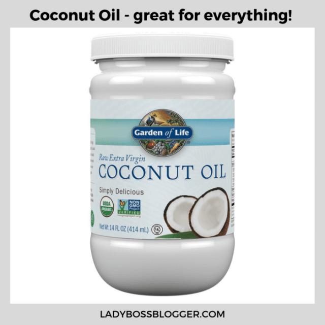 coconut oil ladybossblogger