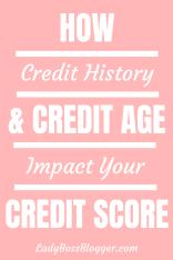 credit history + credit age = credit score 4