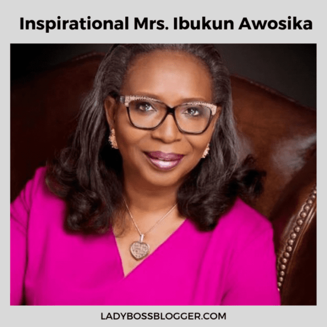 Ibukun Awosika, Nigerian Businesswoman