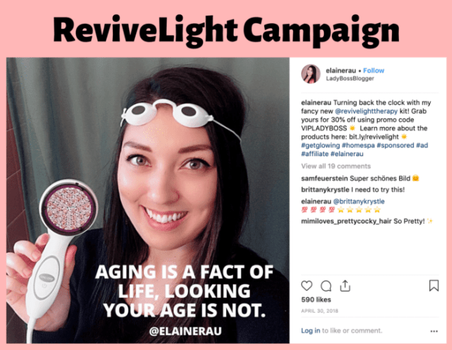 Red light therapy influencer and blogger Elaine Rau