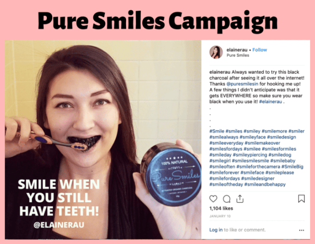 Dental influencer Elaine Rau