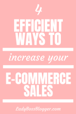 Increase Your E-commerce Sales