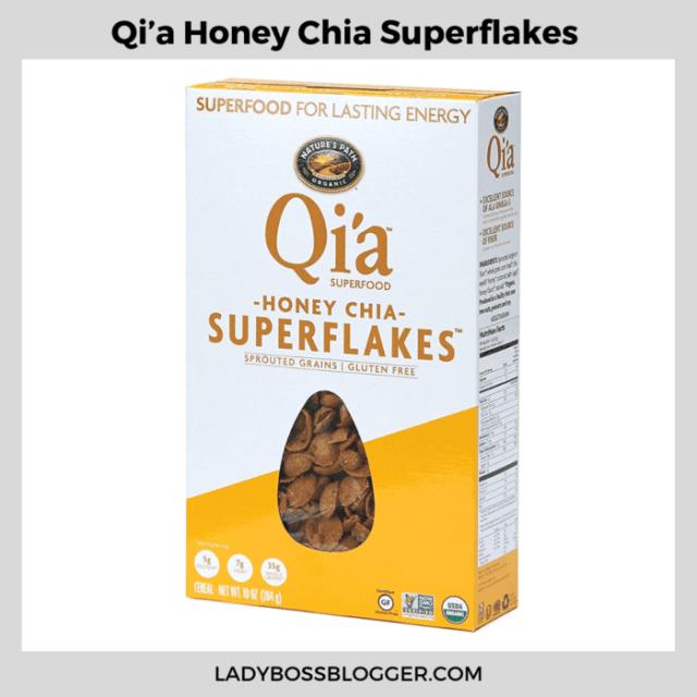 Qi'a Honey Chia Superflakes