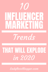 Influencer Marketing Trends