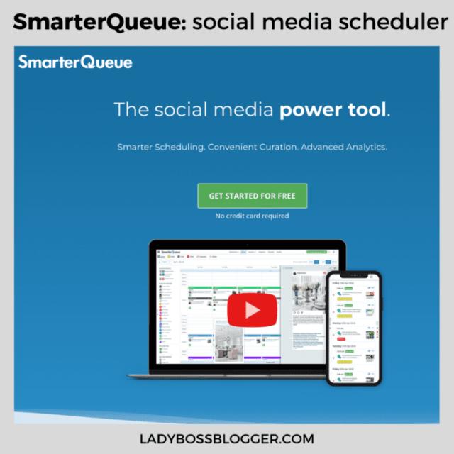 smarterqueue ladybossblogger