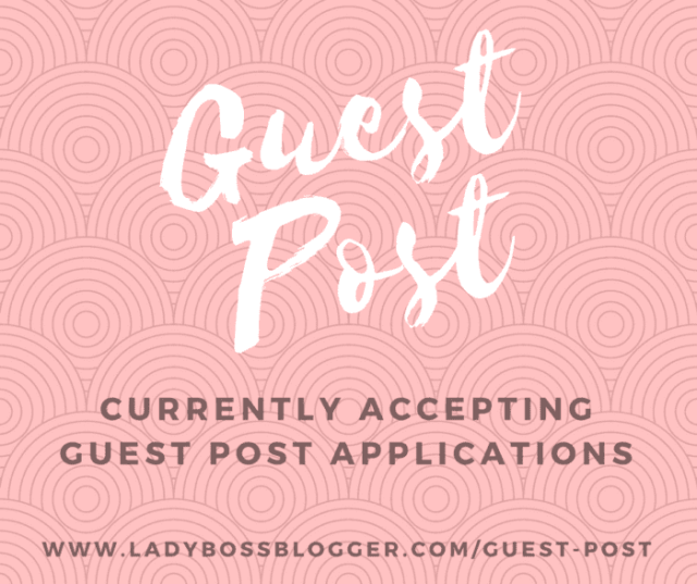guest post on ladybossblogger