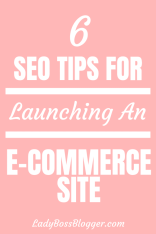 SEO tips ecommerce ladybossblogger
