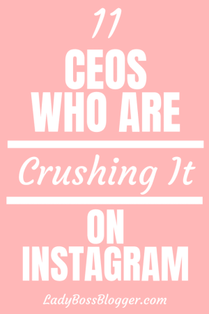 ceos crushing instagram