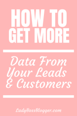 customer data ladybossblogger
