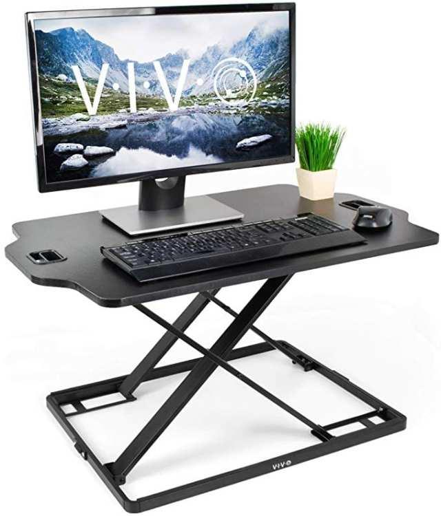stand sit desk ladybossblogger