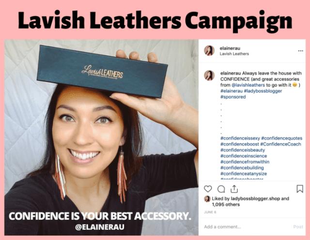 influencer campaign examples elaine rau ladybossblogger 15