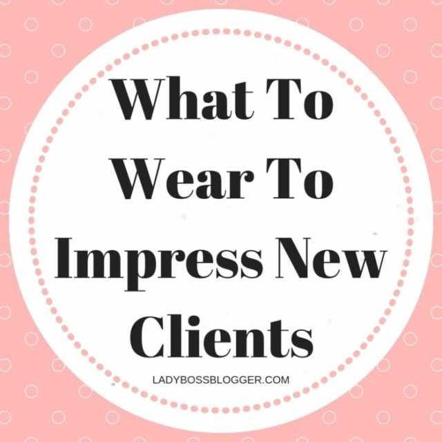 dress to impress ladybossblogger
