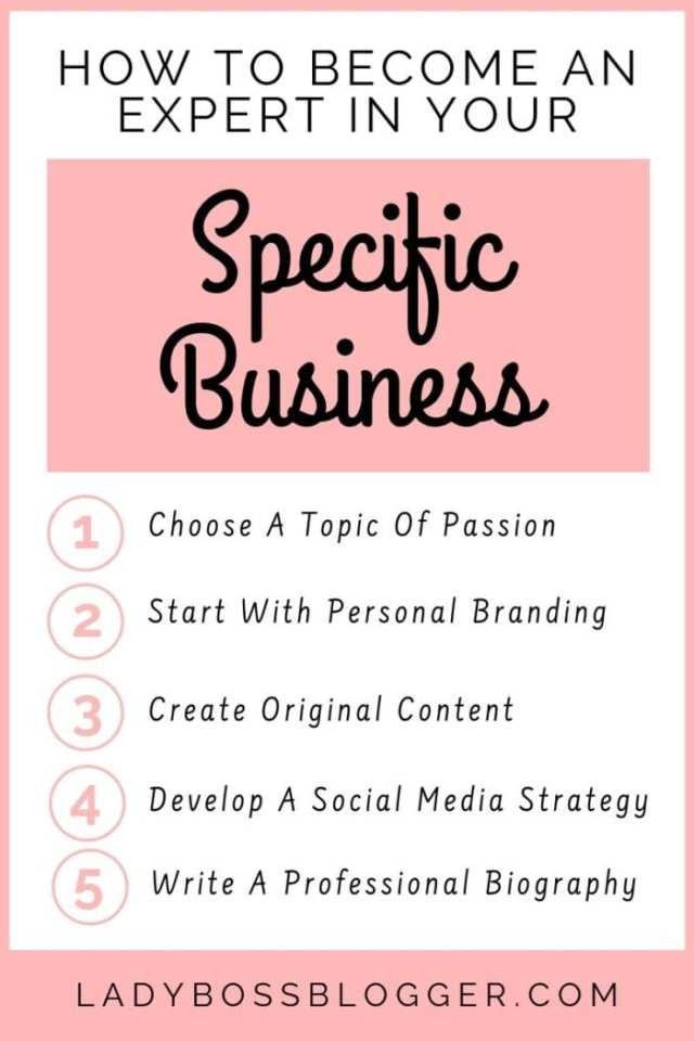 become an expert LadyBossBlogger.com